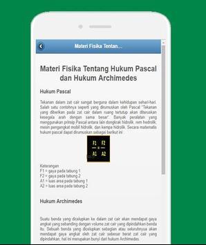 Rangkuman Materi Fisika SMP screenshot 2