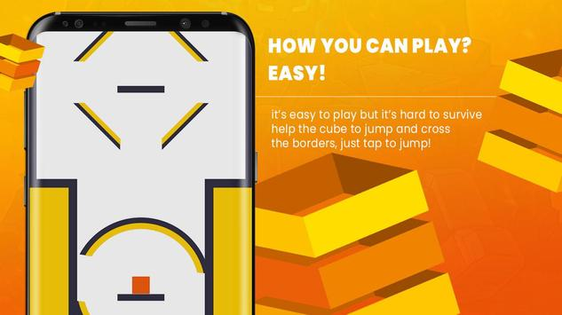 Jumping Cube - How Much You Can Score ? screenshot 1