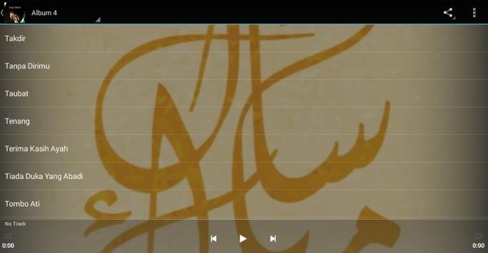 Lagu Islami screenshot 4