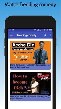 Latest Hindi Stand Up Comedy 2018 screenshot 6