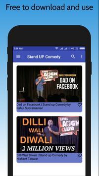 Latest Hindi Stand Up Comedy 2018 screenshot 2
