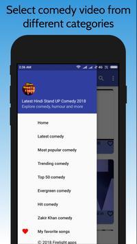 Latest Hindi Stand Up Comedy 2018 screenshot 3
