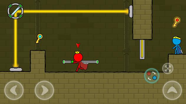Red and Blue Stickman : Animation Parkour 스크린샷 7