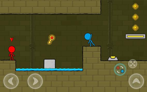 Red and Blue Stickman : Animation Parkour 스크린샷 9