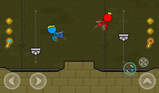 Red and Blue Stickman : Animation Parkour 스크린샷 22