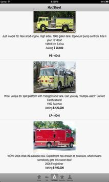 Used Fire Trucks by Firetec® poster