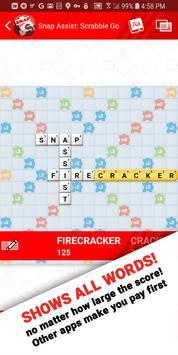 Snap Assist for Scrabble screenshot 1