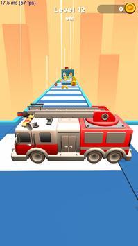 Firefighter Rush 3D poster