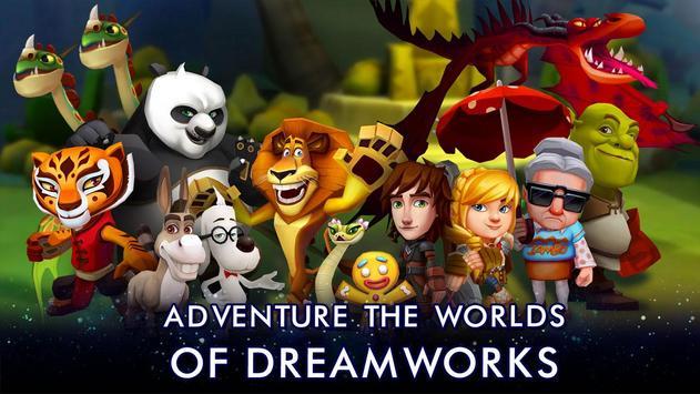 DreamWorks Universe of Legends poster
