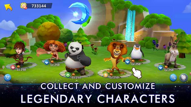 DreamWorks Universe of Legends screenshot 1