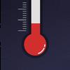 实时温湿度计 - 实地温度测量的温度计助手,测温度湿度、气压与舒适度的实用温湿度计 图标