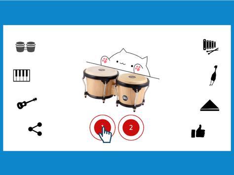 Bongo Cat Musical Instruments screenshot 9