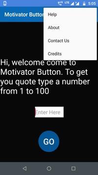 Motivator Button poster