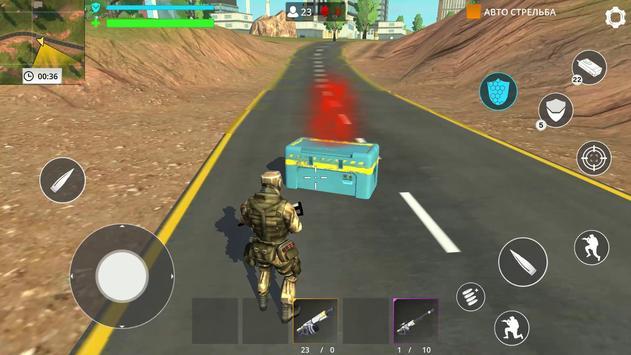 العاب بدون نت: Fire Force Free Battle royale تصوير الشاشة 5