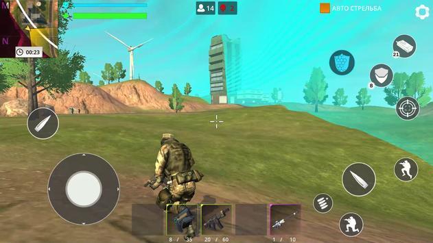 العاب بدون نت: Fire Force Free Battle royale تصوير الشاشة 6
