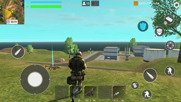 العاب بدون نت: Fire Force Free Battle royale تصوير الشاشة 1
