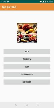 top pk food poster