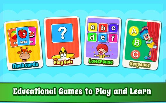 Alphabet for Kids ABC Learning - English poster