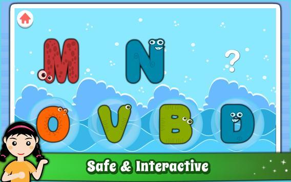 Alphabet for Kids ABC Learning - English screenshot 15