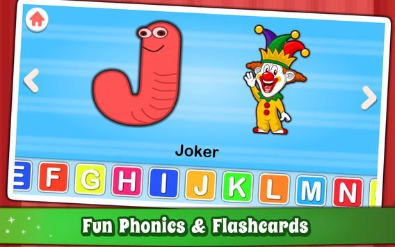 Alphabet for Kids ABC Learning - English screenshot 17