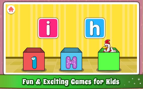 Alphabet for Kids ABC Learning - English screenshot 3