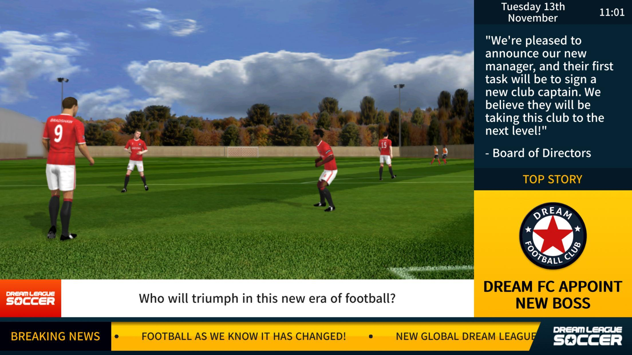 Dream League app for Android download 2019