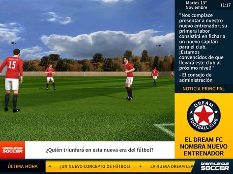 Dream League captura de pantalla 7