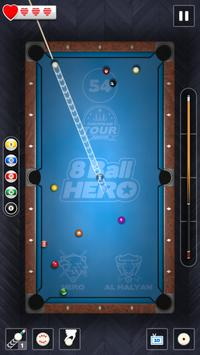 8 Ball Hero स्क्रीनशॉट 2