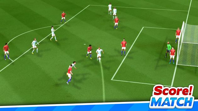 スコア!マッチ - マルチプレイヤー サッカー スクリーンショット 10
