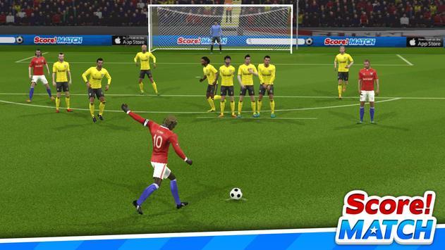 スコア!マッチ - マルチプレイヤー サッカー スクリーンショット 11