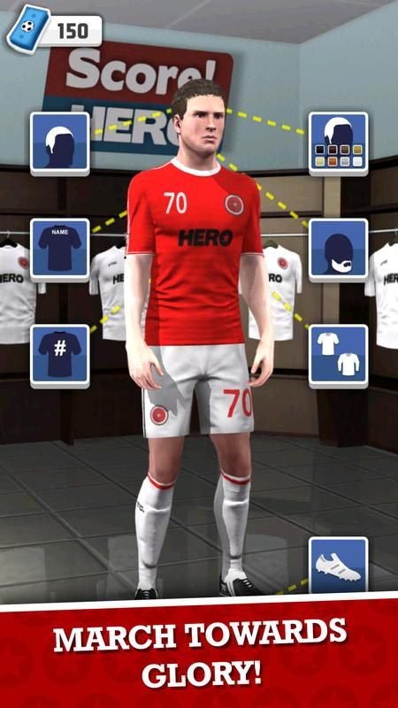 Download game soccer hero mod apk
