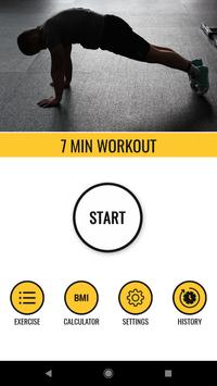 7 Minute Workout - Calories Burn App for Android - APK Download