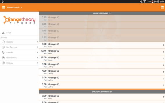 Orangetheory скриншот 4