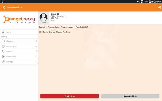Orangetheory скриншот 5