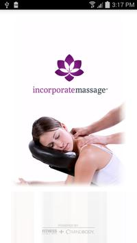 Incorporate Massage BreakTime poster