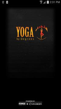 Yoga by Degrees poster