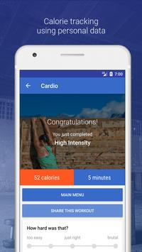 HIIT & Cardio Workout by Fitify screenshot 3