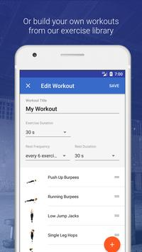 HIIT & Cardio Workout by Fitify screenshot 4