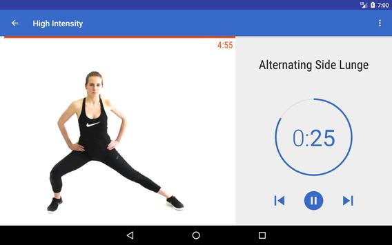 HIIT & Cardio Workout by Fitify screenshot 6