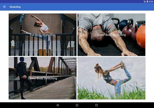 Flexibility Training & Stretching Exercise at Home screenshot 5