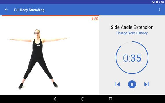 Flexibility Training & Stretching Exercise at Home screenshot 6