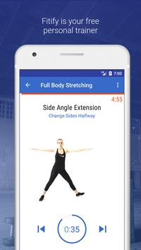 Flexibility Training & Stretching Exercise at Home poster