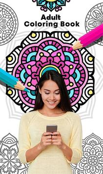 Adult Coloring Book poster