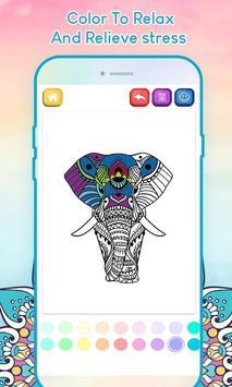 Adult Coloring Book screenshot 1