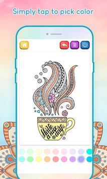 Adult Coloring Book screenshot 5