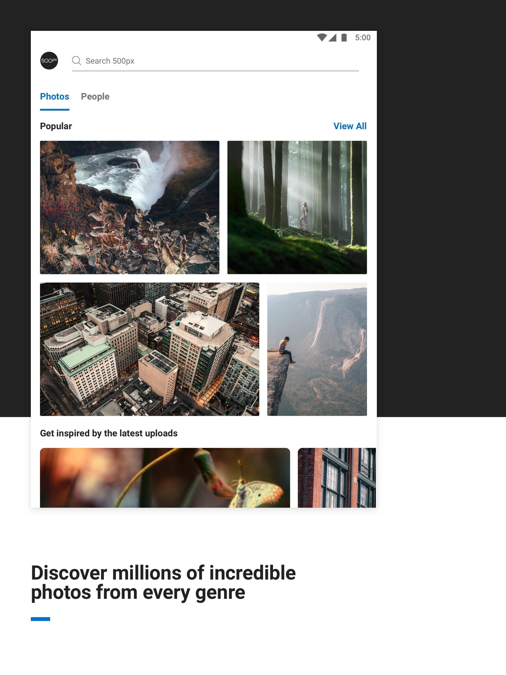 500px for Android - APK Download