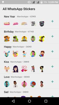 WAStickerApps- All WhatsApp Stickers poster