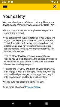 STOP APP screenshot 6