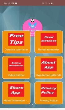 fixed matches betting tips poster