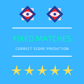 fixed matches correct score icône